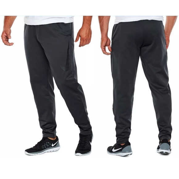 NWT Nike Therma Fit Tapered Training Sweatpants Dark Grey Gray Size 2XL